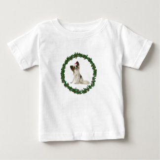 Papillon Santa Baby T-Shirt