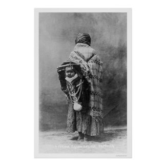Papoose Yakama Squaw 1910 Posters