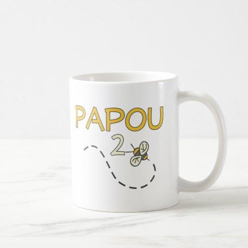 Papou 2 Bee Coffee Mug