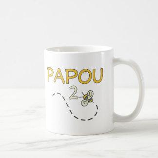 Papou 2 Bee Mugs