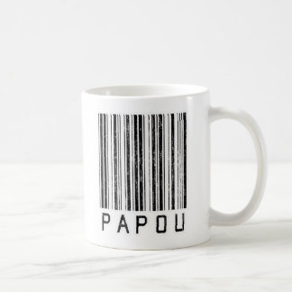 Papou Barcode Coffee Mug