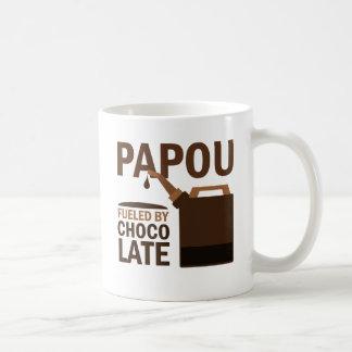 Papou (Funny) Chocolate Coffee Mug