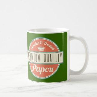Papou (Funny) Gift Basic White Mug