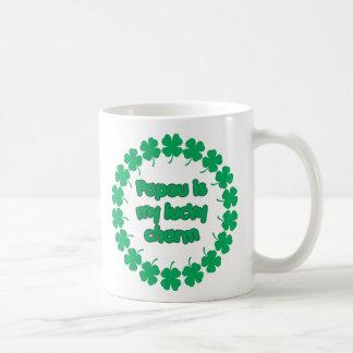 Papou is My Lucky Charm Coffee Mug
