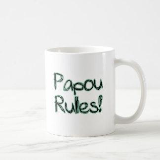Papou Rules! Coffee Mug