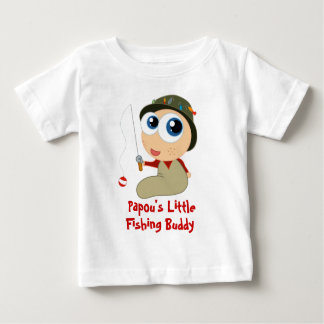 Papou s Fishing Buddy Baby T-shirt