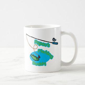 Papou s Fishing Buddy Coffee Mug