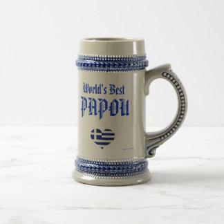 Papou Stein - World s Best Papou greek - grandpa Mug