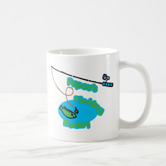 Papou's Fishing Buddy Basic White Mug