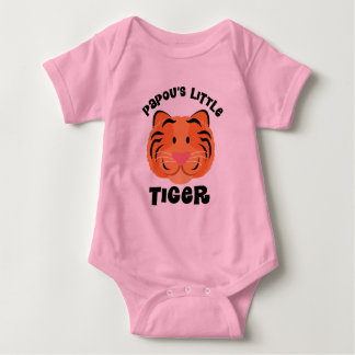 Papous Little Tiger Cute Gift Baby Bodysuit