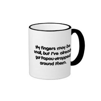 Papou's Wrapped Ringer Mug