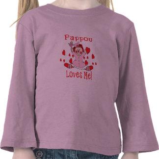 Pappou Love s me Rag Doll Shirt
