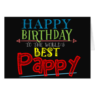 Pappy Birthday Card
