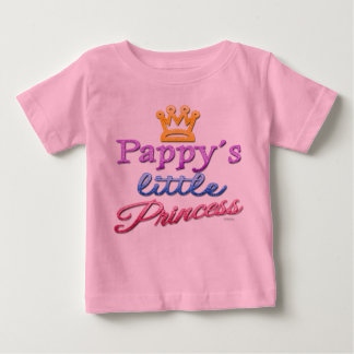 Pappy's Little Princess Baby Toddler T-Shirt