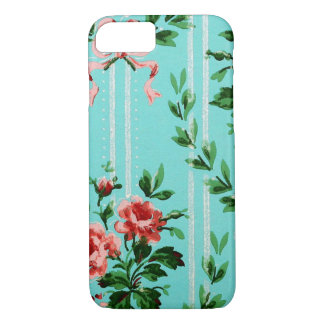 Pappy's Old Wallpaper Vintage Design iPhone 7 Case