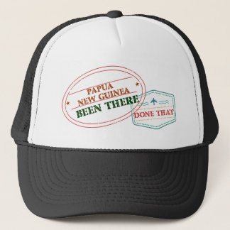 Papua New Guinea Been There Done That Trucker Hat