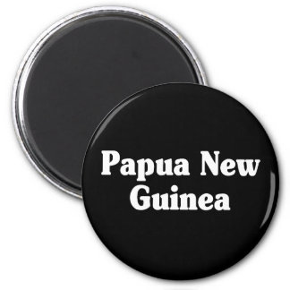 Papua New Guinea Classic Style 6 Cm Round Magnet