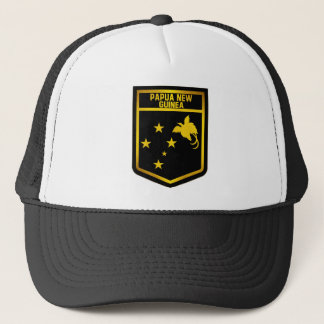 Papua New Guinea Emblem Trucker Hat
