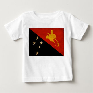 Papua new Guinea Flag Baby T-Shirt