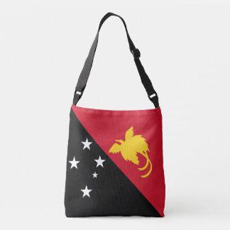 Papua New Guinea Flag Crossbody Bag
