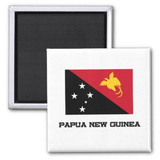Papua New Guinea Flag Refrigerator Magnets