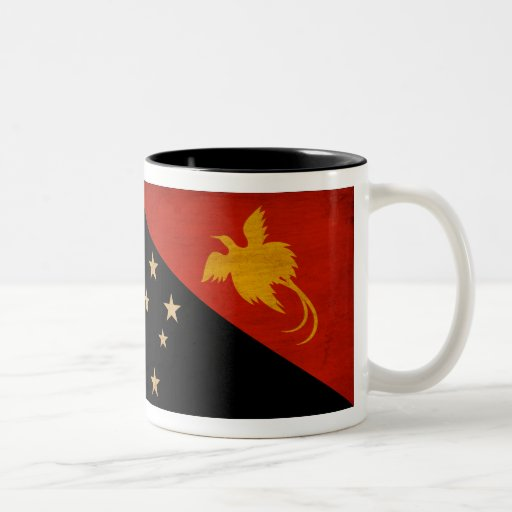 Papua new Guinea Flag Coffee Mug