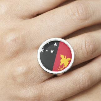 Papua New Guinea Flag Ring