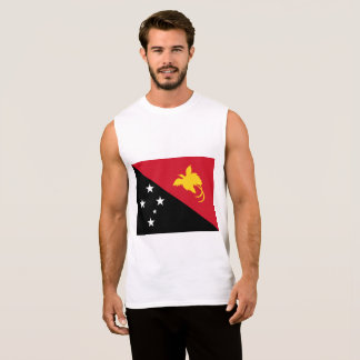 Papua New Guinea Flag Sleeveless Shirt