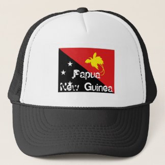 Papua New Guinea flag souvenir hat