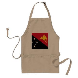 Papua New Guinea Flag Standard Apron