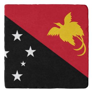 Papua New Guinea Flag Trivet