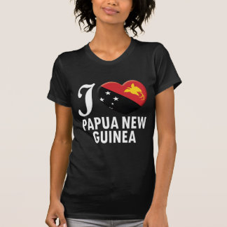 Papua New Guinea Love W T-Shirt