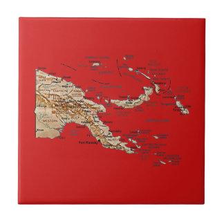 Papua New Guinea Map Tile