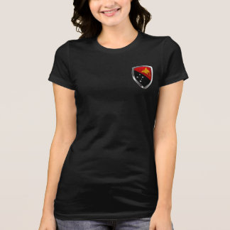Papua New Guinea Metallic Emblem T-Shirt