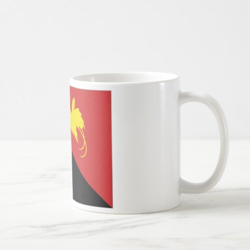 Papua New Guinea National Flag Mug