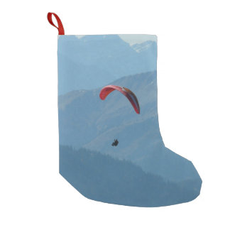 Para Glide Paraglider Paragliding Small Christmas Stocking