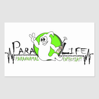 Para-Life Rectangular Sticker