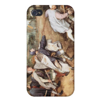 Parabal of the blind men by Pieter Bruegel Case For The iPhone 4