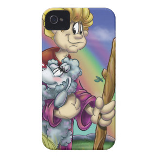 Parable lost sheep cartoon iPhone 4 Case-Mate case