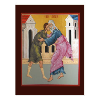 Parable of the Prodigal Son Prayer Card