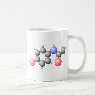 Paracetamol Molecule Coffee Mug