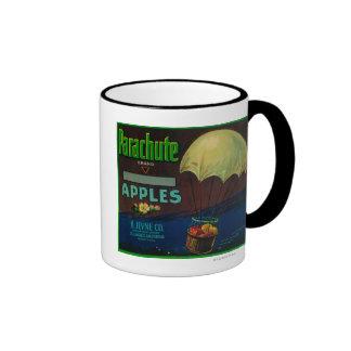 Parachute Apple Crate Label Mugs