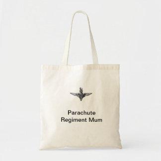 Parachute Regiment Mum Colchester, Essex Budget Tote Bag