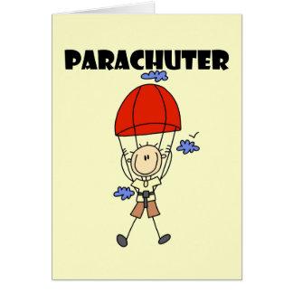 Parachuter Tshirts and Gifts Card