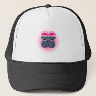 parachuting cute cuddling koalas trucker hat