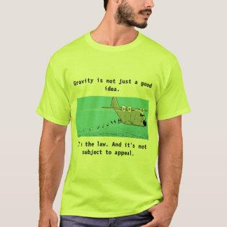 Parachuting Humor Cartoon T-Shirt