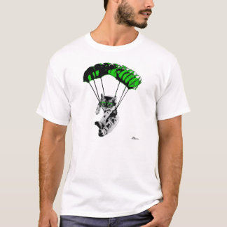 Parachuting Kitten T-Shirt