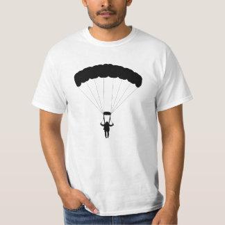 Parachuting Man Silhouette T-Shirt