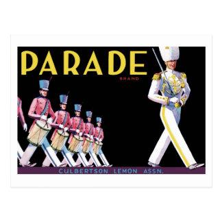 Parade Brand Postcard