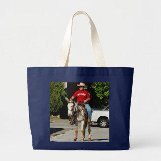 parade in ozark mo mule days tote bag